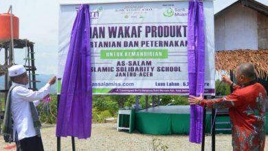 Photo of Direktur BMM dan Wabup Aceh Besar Meresmikan Lahan Wakaf Pertanian dan Peternakan Kemandirian AS-SALAM ISS