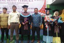 Photo of Wisuda 4 kader Assalam Islamic Solidarity School di Politeknik Negeri Media Kreatif Medan.