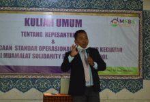 Photo of MSBS ADAKAN KULIAH UMUM TENTANG KEPESANTRENAN