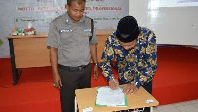 Photo of Maksimalkan Service Excellent, MSBS Tandatangani  Perjanjian Kerja Dengan Tim Security