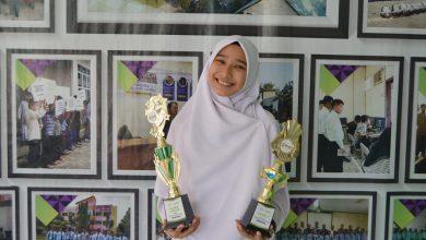 Photo of Bawa Harum MSBS, Resa Juara Desain Poster Tingkat Provinsi