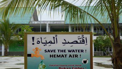 Photo of Poster Sebagai Pengingat Santri Agar Selalu Menjaga Kebersihan
