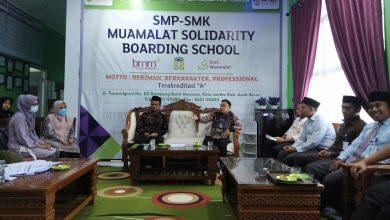 Photo of Bank Muamalat Banda Aceh Silaturahmi Ke MSBS