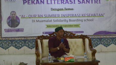 Photo of Santri MSBS Mendapatkan Pembekalan Sumber Terapi Dari Al-Qur'an